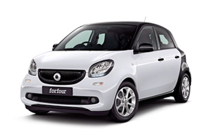 Smart Forfour playa las americas